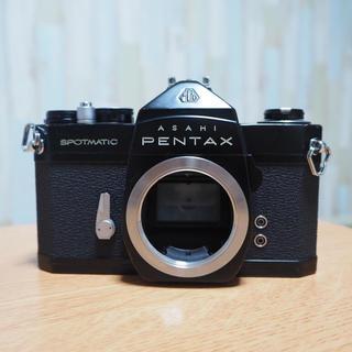 ペンタックス(PENTAX)のPENTAX SP Black フィルム・電池付き 完動品(フィルムカメラ)