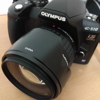 オリンパス(OLYMPUS)のオリンパス E-510 14-42mm レンズ付き! xdピクチャーカードも!(レンズ(ズーム))