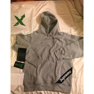 シュプリーム(Supreme)のSupreme corner label hooded sweatshirt(パーカー)