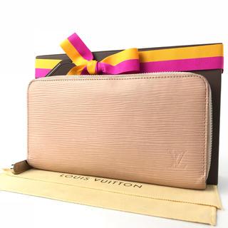 ルイヴィトン(LOUIS VUITTON)のルイヴィトン  ジッピーウォレット  ピンク系  エピ  レザー  長財布(財布)