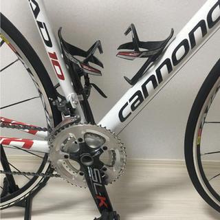 キャノンデール(Cannondale)の写真追加用 ロードバイク CANNONDALE 10 ULTEGRA仕様(自転車本体)