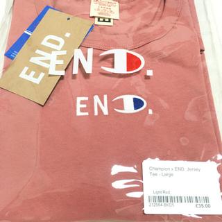 チャンピオン(Champion)のEND Champion Tee Light Red(Tシャツ(半袖/袖なし))