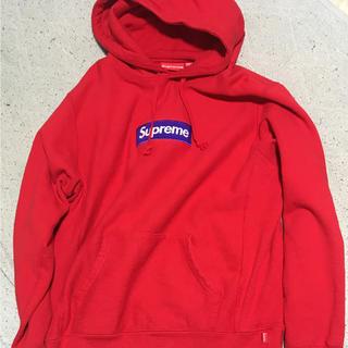 シュプリーム(Supreme)のsupreme  box logo  パーカー(パーカー)