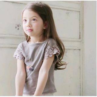 【新品】子供 Tシャツ キッズ ブラウス トップス 女の子(Tシャツ/カットソー)