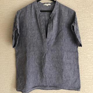 ニジュウサンク(23区)の23区×LIBECO リネンシャツ♡(シャツ/ブラウス(半袖/袖なし))