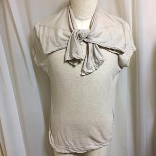 ワイズ(Y's)のY's ワイズ ヨウジヤマモト 変形カットソー(Tシャツ/カットソー(半袖/袖なし))