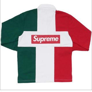 シュプリーム(Supreme)の supreme 16aw ラガーシャツ(Tシャツ/カットソー(半袖/袖なし))