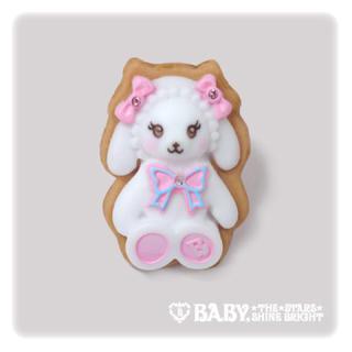 ベイビーザスターズシャインブライト(BABY,THE STARS SHINE BRIGHT)の【新品未使用】BABY♡くみゃちゃん シュガシュガアイシングクッキーリング 指輪(リング(指輪))