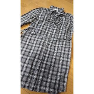 アツロウタヤマ(ATSURO TAYAMA)のチェック柄長袖ロングシャツ(シャツ/ブラウス(長袖/七分))