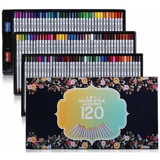 色鉛筆 彩り 塗り絵 スケッチ用  プレゼント用  120色セット(鉛筆)