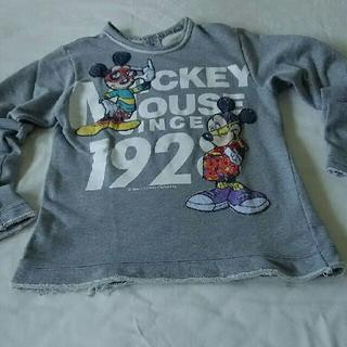ディズニー(Disney)のDISNEY 【TOO CUTE!☆トレーナー】MICKEY&CO.(Tシャツ(長袖/七分))