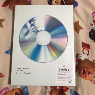アラシ(嵐)の嵐 untitled 初回限定盤 Blu-ray(ミュージック)