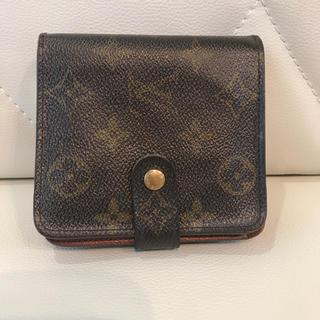ルイヴィトン(LOUIS VUITTON)のルイヴィトン コンパクトジップ(折り財布)