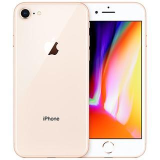 アップル(Apple)のau iPhone8 64GB 新品交換品 A082-578(スマートフォン本体)