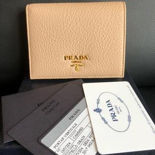 プラダ(PRADA)のプラダ 二つ折り財布 ミニ財布(財布)