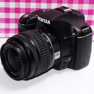 ペンタックス(PENTAX)の⭐たくさん思い出を作ろう⭐ペンタックス k-x レンズキット・豪華付属品多数(デジタル一眼)