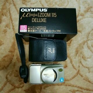 オリンパス(OLYMPUS)のOLYMPUS ミュー・ズーム115デラックス(レンズ(ズーム))