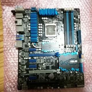 エイスース(ASUS)のASUS p8z77-v deluxe  中古バルク(PC周辺機器)