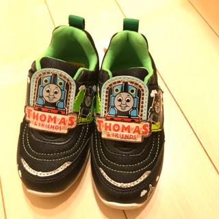 ムーンスター(MOONSTAR )の未使用 機関車トーマス 子供靴 サイズ15センチ(スニーカー)