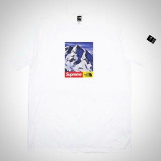 シュプリーム(Supreme)の新品★送料無料★M 17AW supreme×northface Tee(Tシャツ/カットソー(半袖/袖なし))
