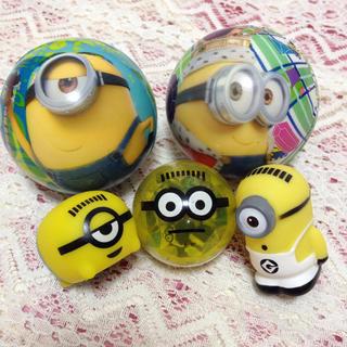 ミニオン(ミニオン)のミニオン セット商品 おもちゃ 消しゴム ボール(キャラクターグッズ)
