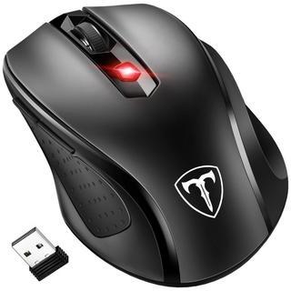 大人気☆2.4G ワイヤレスマウス  5DPIモード 2400DPI 高精度(PC周辺機器)