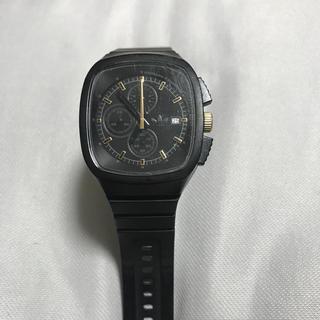adidas - adidas originals 腕時計 黒