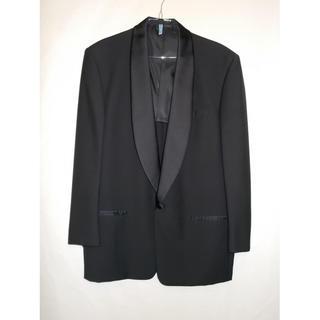 VISARUNO メンズ スーツ ブラック(セットアップ)