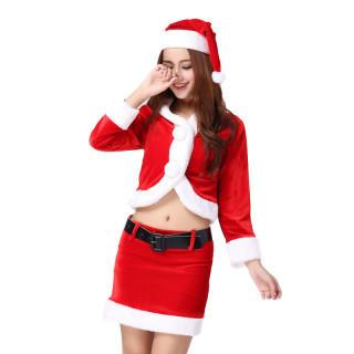 ☆クリスマス コスチューム ふかふかコスチューム☆(衣装一式)