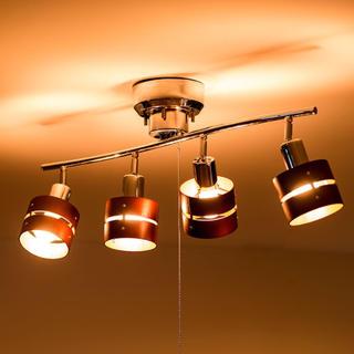新品未使用 シーリング  オシャレ レダ LED電球付き(天井照明)