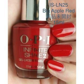 オーピーアイ(OPI)のOPI IS-LN25 Big Apple Red ビッグアップルレッド 新品(マニキュア)