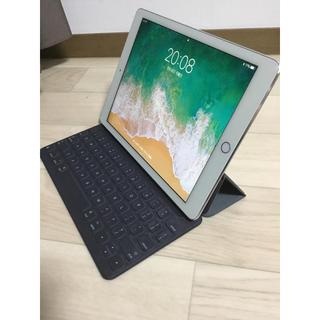 アップル(Apple)のiPad Pro9.7 256g+スマートキーボード Apple純正セット 美品(タブレット)