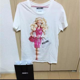モスキーノ(MOSCHINO)の大値下げ!MOSCHINO バービー Tシャツ 本物  新品(Tシャツ(半袖/袖なし))