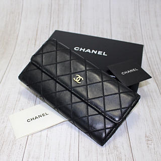 シャネル(CHANEL)の『なかなか綺麗』CHANEL ワイルドステッチ 長財布(財布)