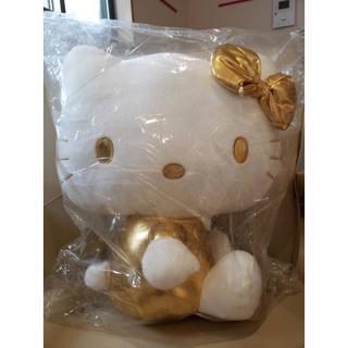 サンリオ(サンリオ)のサンリオ キティ ゴールド 金色 ぬいぐるみ 人形 (ぬいぐるみ)