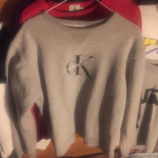 カルバンクライン(Calvin Klein)のカルバンクライン スウェット sサイズ(スウェット)