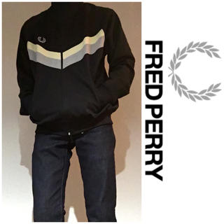 フレッドペリー(FRED PERRY)のFREDPERRY トラックジャケット ジャージ ストリート 古着 トレンド(ジャージ)