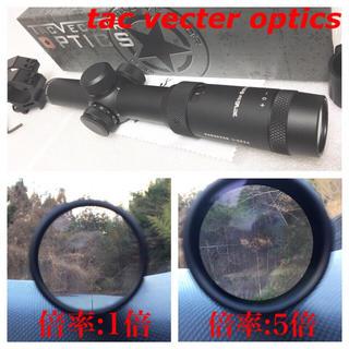 実物 最新型 VECTOR OPTICS TAC ライフル スナイパー スコープ(モデルガン)