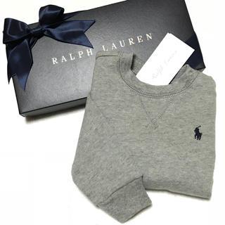 Ralph Lauren - 人気アイテム☆新品✨裏起毛 スウェットシャツ / グレー 12M/80