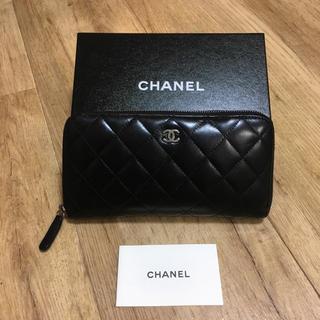 シャネル(CHANEL)の正規品♡CHANEL ラウンドファスナー長財布(財布)