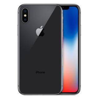 アップル(Apple)のau iPhoneX 256GB 新品未使用 A141-856(スマートフォン本体)