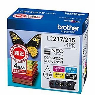 ブラザー 純正インク LC217 215(PC周辺機器)