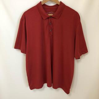 エディーバウアー(Eddie Bauer)のEDDIE BAUER 無地 吸水速乾 ビッグシルエット ゆる ポロシャツ XL(ポロシャツ)