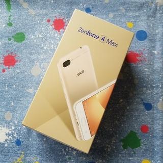 新品未開封 ASUS Zenfone4 Max ゴールド ZC520KL
