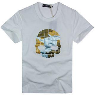 ハイドロゲン(HYDROGEN)の★正規品(7DT7233WH)ハイドロゲン メンズ半袖Tシャツ【XL】(Tシャツ/カットソー(半袖/袖なし))