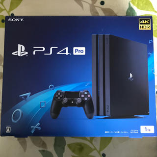 PlayStation4 - ps4 pro jetblack 1TB 中古 本体 美品