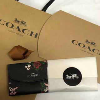 コーチ(COACH)の正規品♡新品未使用 COACH コーチ 花柄 フラワー キーケース 6連フック(キーケース)
