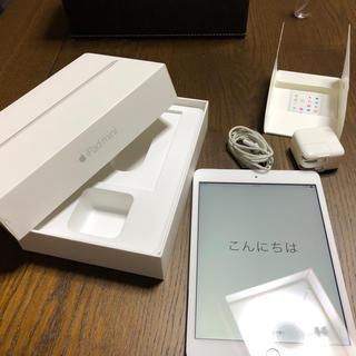 アップル(Apple)のipad mini3 本体 16GB wifi cellular 付属品全てあり(タブレット)