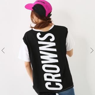 ロデオクラウンズ(RODEO CROWNS)のロデオクラウンズ  ビッグ ロゴTシャツ(Tシャツ(半袖/袖なし))
