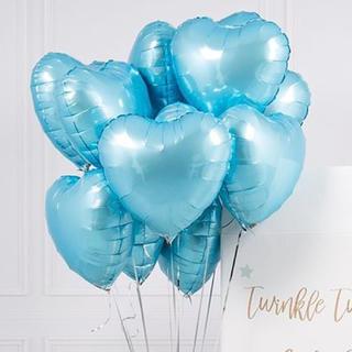 選べるカラー♡ ハート 星 バルーン  40㎝  ヘリウム対応 誕生日 結婚式(ウェルカムボード)